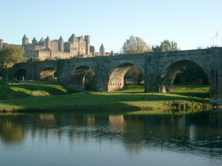 Views of the medieval city of Carcassonne by BikeTours