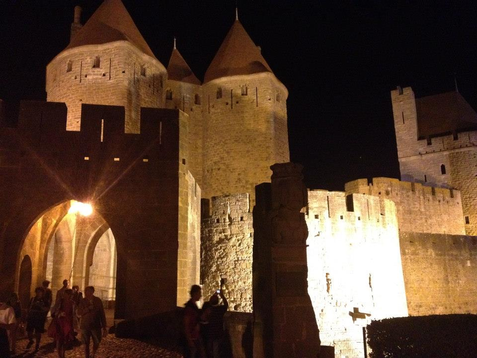 Enjoy getting lost in the medieval City of Carcassonne by day and by night...