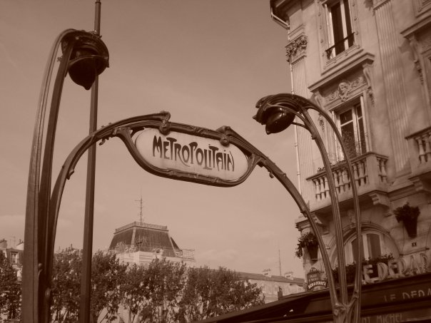 Le Metropolitan: the most iconic European subway