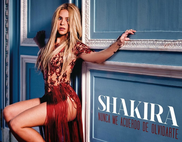 "New single from Shakira: Nunca me acuerdo de olvidarte from the album ""Shakira"""