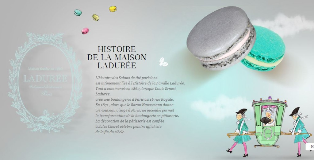 Laduree website