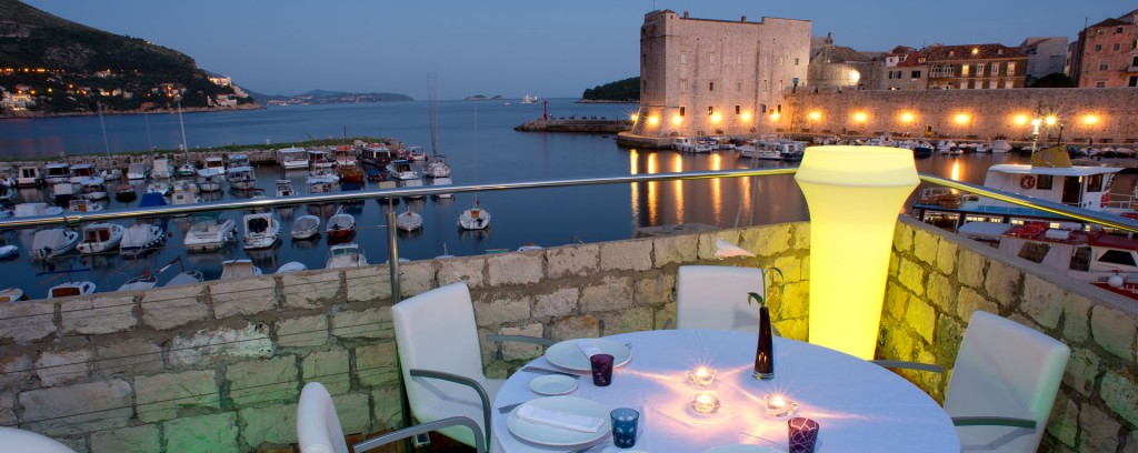 360 Dubrovnik outside seating area