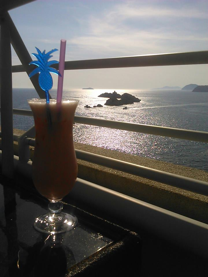 cocktail in Dubrovnik